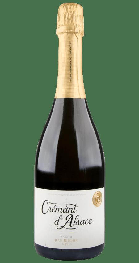 93 Pt. Sparkling Blend Crémant d'Alsace NV Jean Biecher et Fils Organic