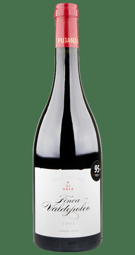 95 Pt. Rioja 2015 Pujanza Finca Valdepoleo