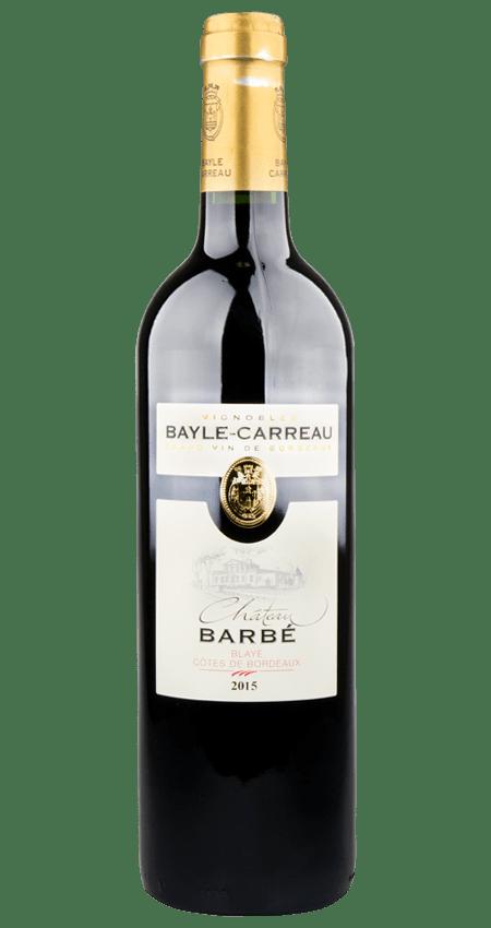 Blaye Côtes-de-Bordeaux 2015 Château Barbe
