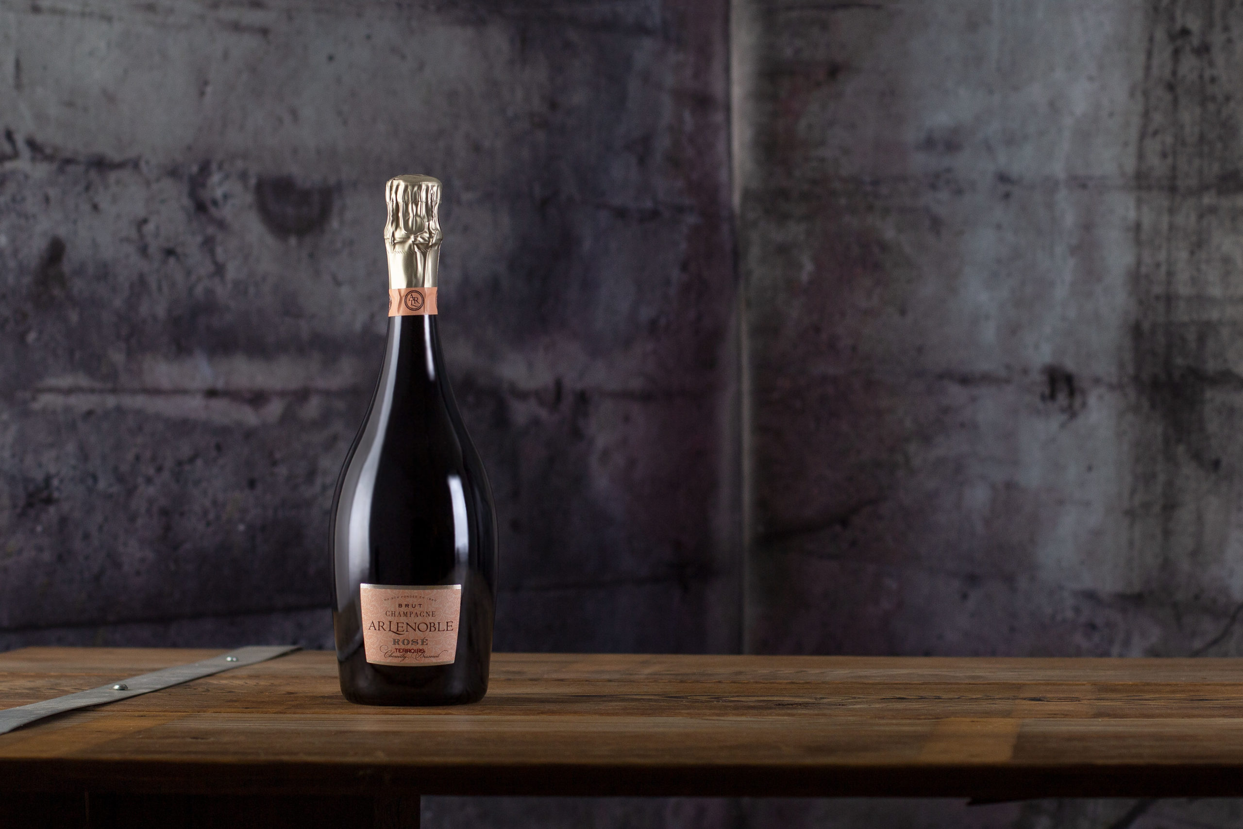 "Champagne AR Lenoble, ""Terroirs"" Brut Rosé"