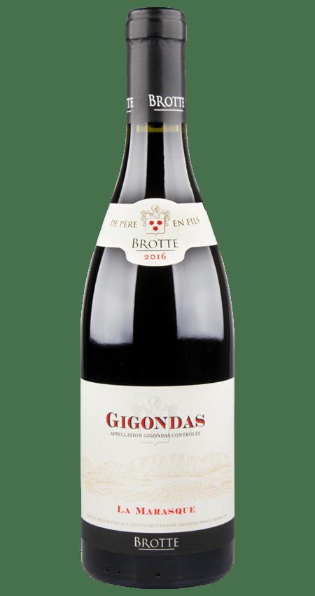 Gigondas 2016 Maison Brotte Signatures La Marasque Red