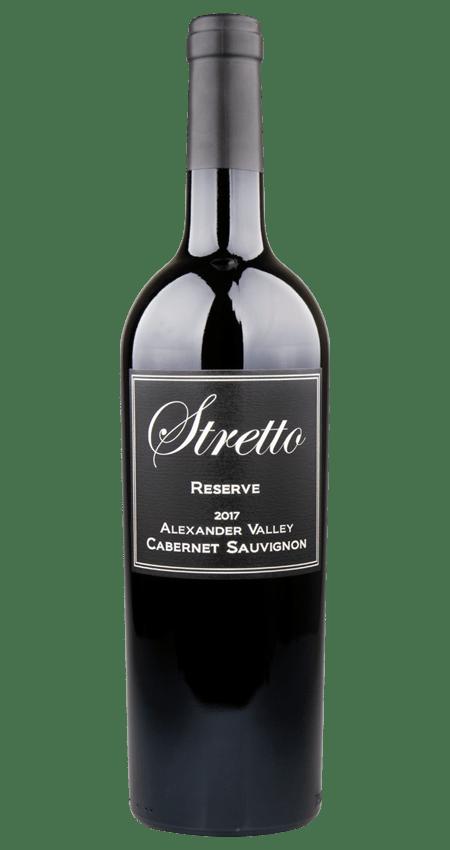 Stretto Reserve Cabernet Sauvignon Alexander Valley 2017