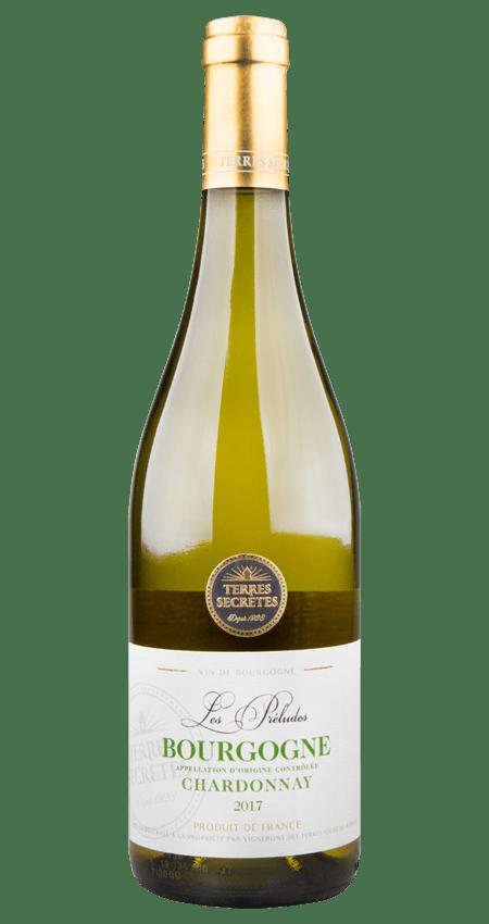 White Burgundy 2017 Terres Secrètes Les Préludes Bourgogne Chardonnay