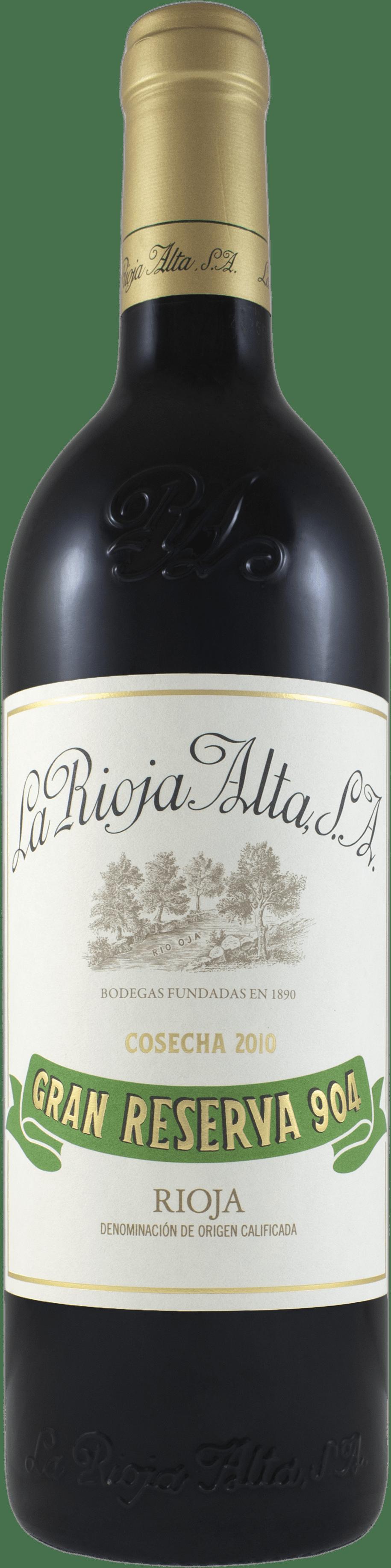 2010 La Rioja Alta Gran Reserva Rioja '904'