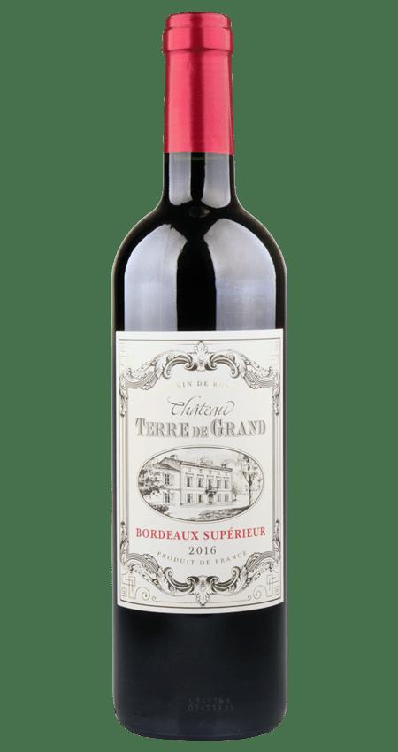 91 Pt. Bordeaux Supérieur 2016 Château Terre de Grand