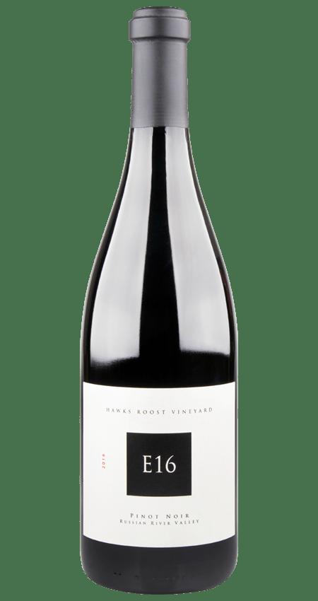 93 Pt. E16 Russian River Valley Pinot Noir 2016 Hawks Roost Vineyard