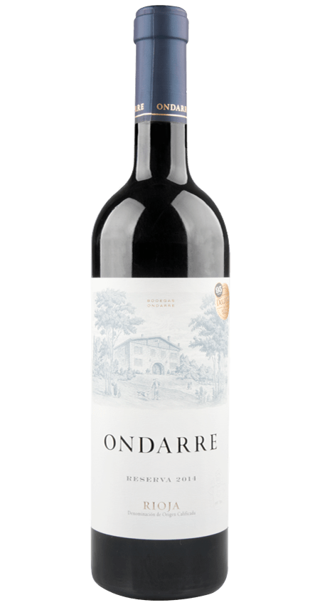 95 Pt. Bodegas Ondarre Rioja Reserva 2014