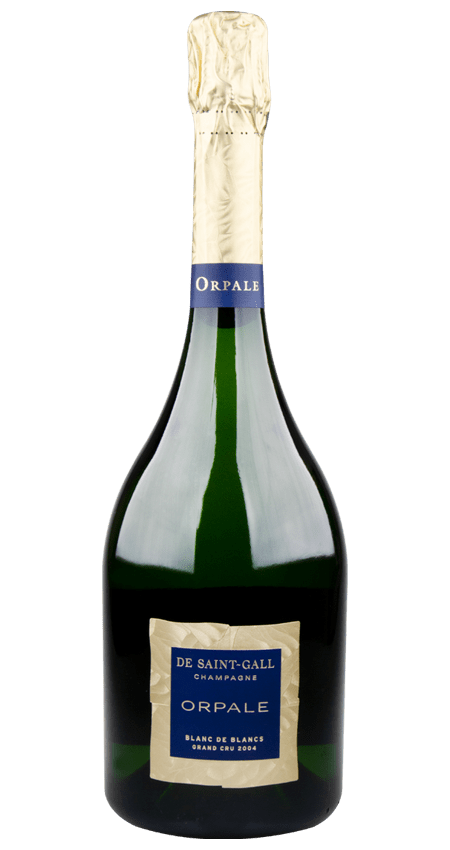 97 Pt. Champagne de Saint-Gall Orpale Blanc des Blancs Grand Cru Brut 2004