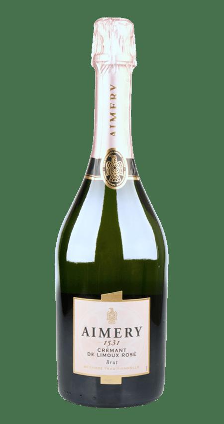 Aimery Sparkling Crémant de Limoux Rosé Brut NV