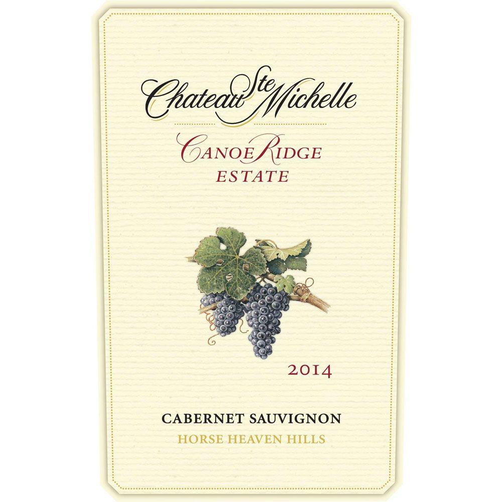 Chateau Ste. Michelle Canoe Ridge Estate Cabernet Sauvignon 2014