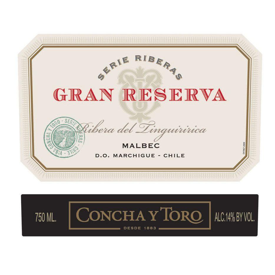 Concha y Toro Gran Reserva Serie Riberas Malbec 2016