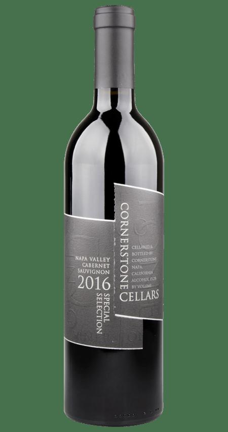 Cornerstone Napa Valley Cabernet Sauvignon Black Label Special Selection 2016