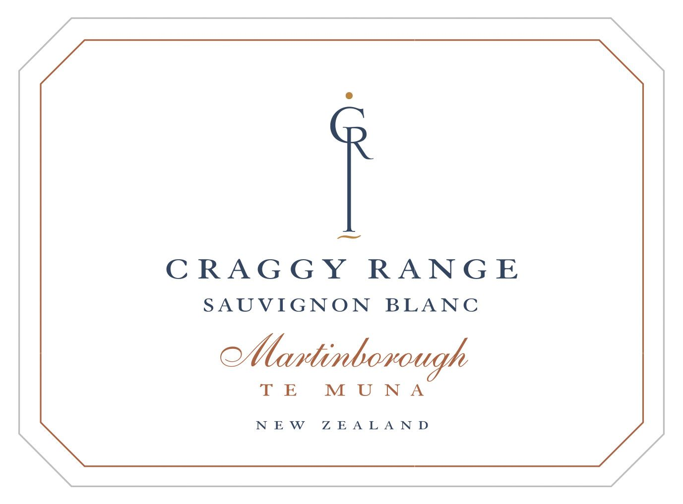 Craggy Range Winery Te Muna Road Vineyard Sauvignon Blanc 2018