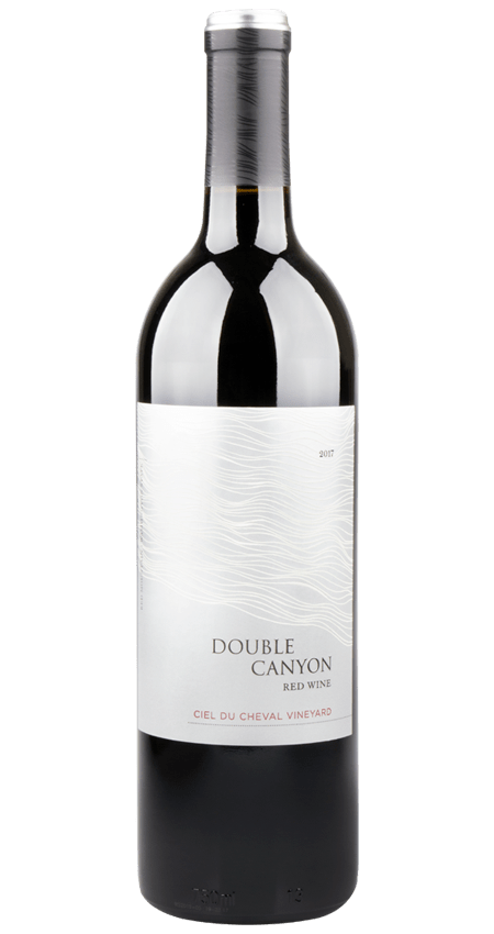 Double Canyon Ciel du Cheval Vineyard Red Mountain 2017 Red Wine