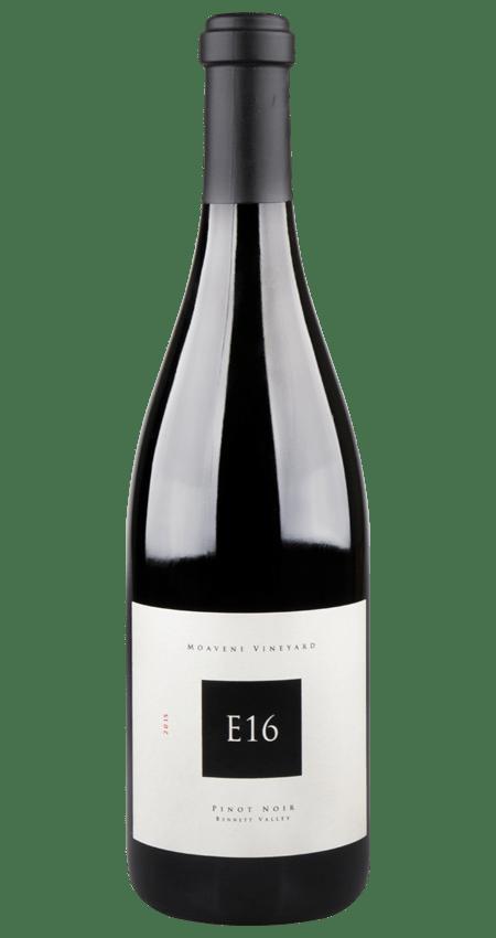 E16 Moaveni Vineyard Bennett Valley Pinot Noir 2015