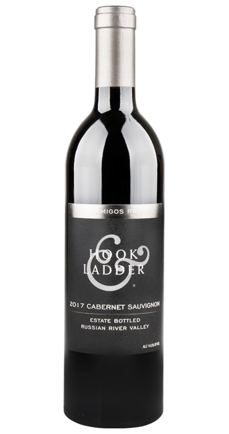 Hook and Ladder 2017 Cabernet Sauvignon Estate Bottled Russian River Valley Los Amigos Ranch