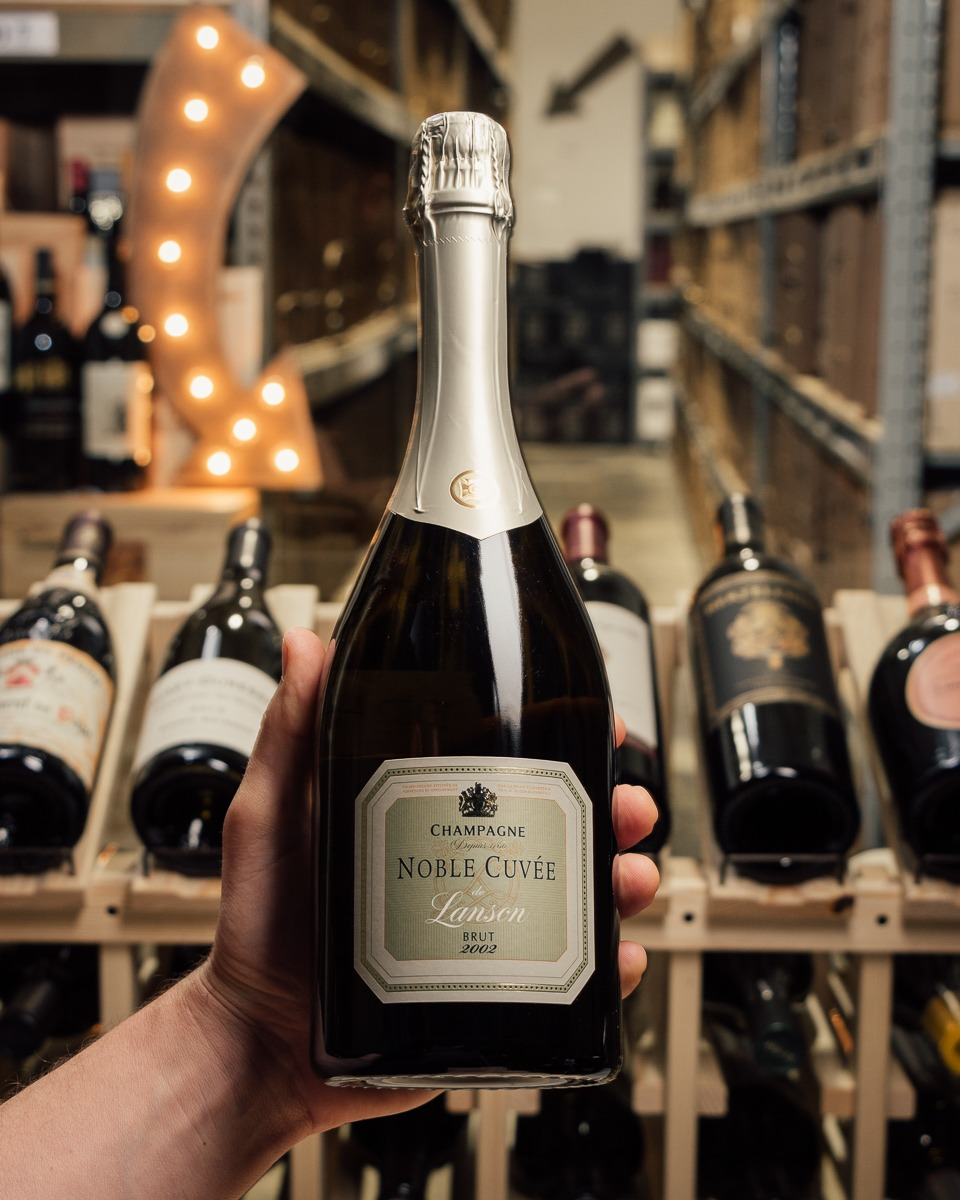 Lanson Noble Cuvee Brut Champagne 2002