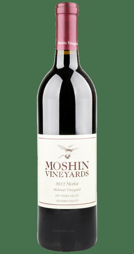 Moshin Dry Creek Valley Molinari Vineyard Merlot 2012