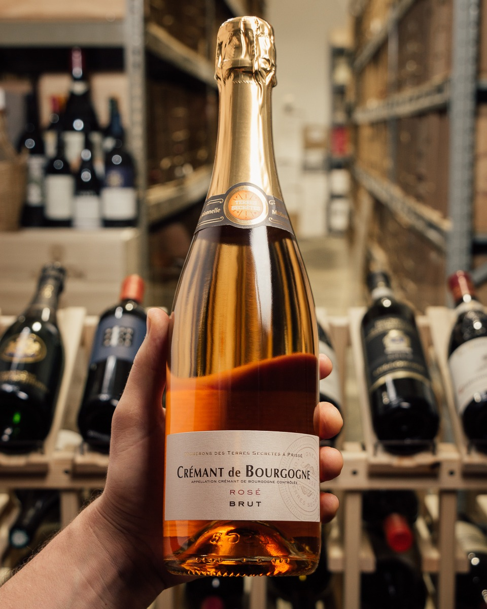 Terres Secretes Cremant de Bourgogne Rose NV