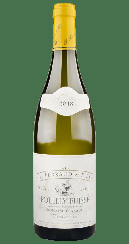 White Burgundy Pouilly-Fuissé 2018 Domaine Ferraud L'Entreroches