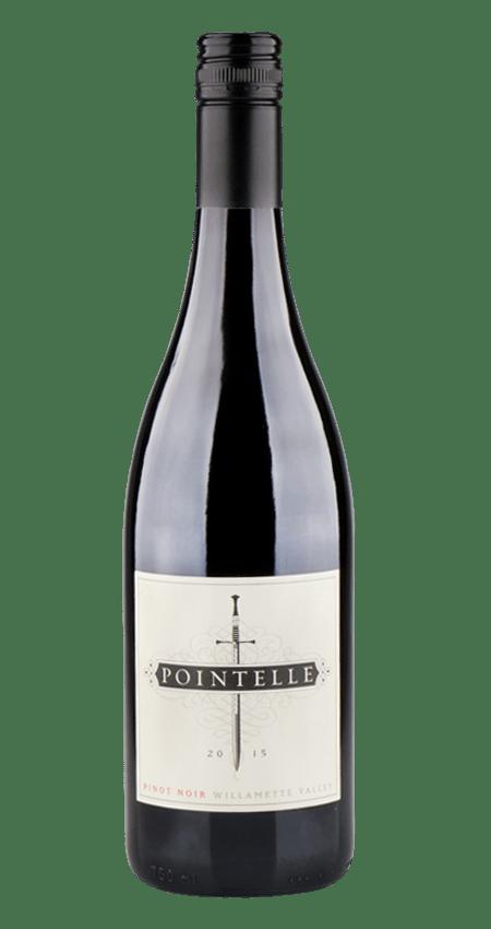 Willamette Valley Pinot Noir 2015 Pointelle 91 WE!