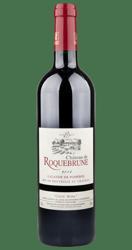 91 Pt. Lalande de Pomerol 2014 Château de Roquebrune Cuvée Reine
