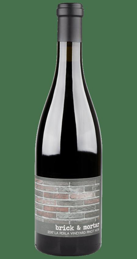 93 Pt. Brick and Mortar Wines Pinot Noir Spring Mountain La Perla Vineyard 2017