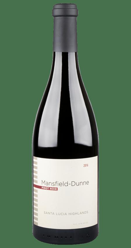94 Pt. Mansfield-Dunne 2016 Pinot Noir Santa Lucia Highlands
