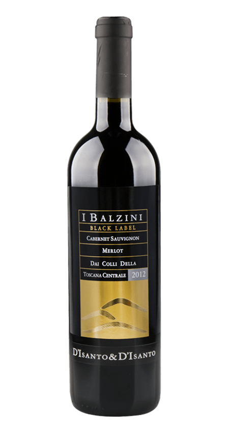 94 Pt. Super Tuscan I Balzini Black Label 2012