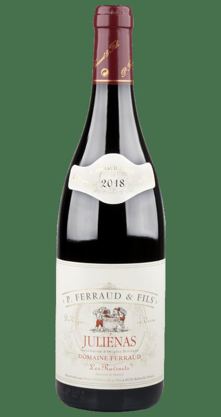 95 Pt. Domaine Ferraud Beaujolais Juliénas Les Ravinets 2018