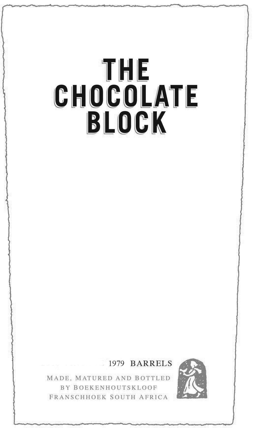 Boekenhoutskloof The Chocolate Block Red Blend 2017
