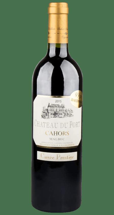 Château du Port Cuvée Prestige Cahors Malbec 2015