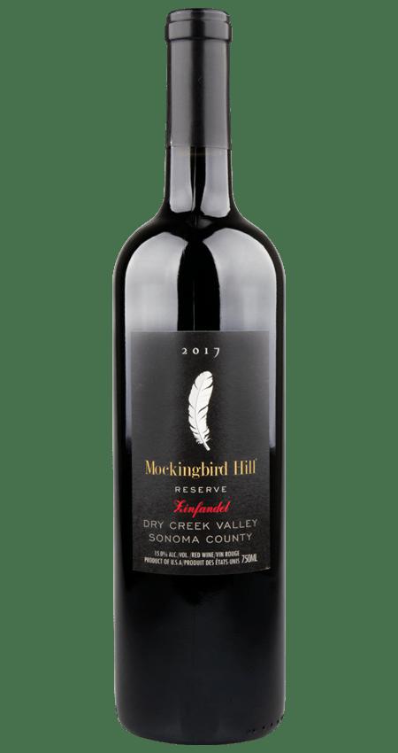 Mockingbird Hill 2017 Dry Creek Valley Reserve Sonoma Zinfandel