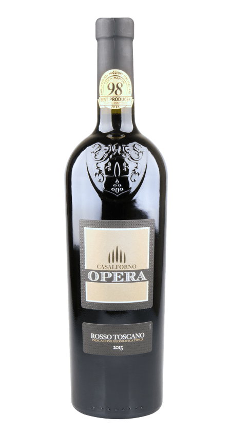 Opera Super Tuscan Toscano Rosso IGT 2015