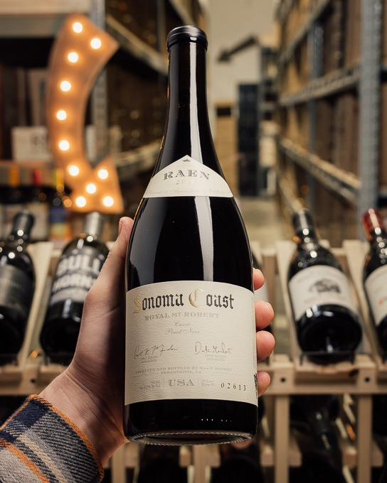 RAEN Pinot Noir Royal St. Robert Cuvee Sonoma Coast 2017