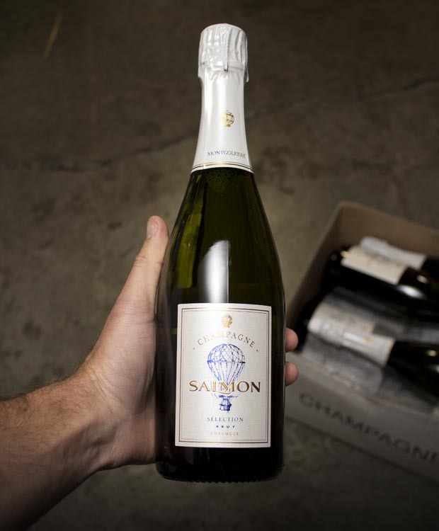 Salmon Brut Cuvee Selection Montgolfiere NV
