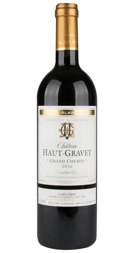 Saint-Émilion Grand Cru 2016 Château Haut-Gravet 'Grand Chemin'