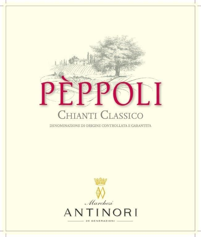 Antinori Peppoli Chianti Classico 2016