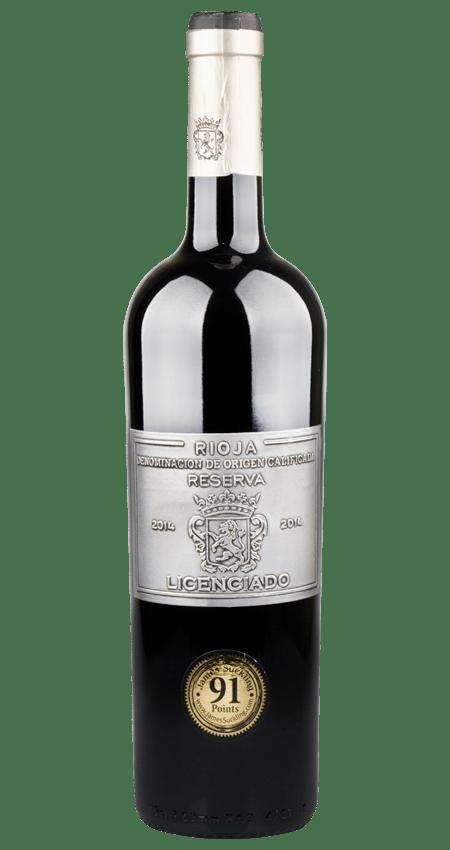Bodegas Burgo Viejo Licenciado Rioja Reserva 2014