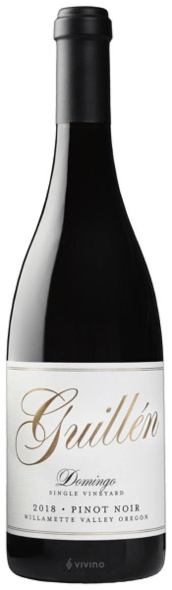Guillén Family Domingo Single Vineyard Pinot Noir 2018