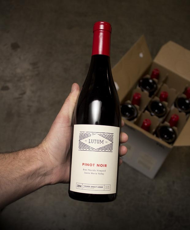 Lutum Pinot Noir Bien Nacido Vineyard 2014