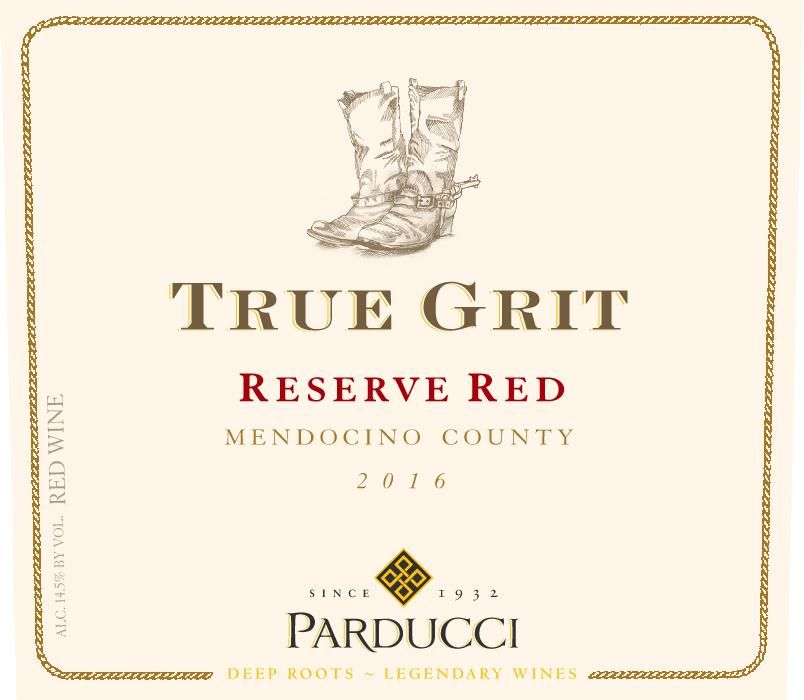 Parducci True Grit Reserve Red Blend 2016