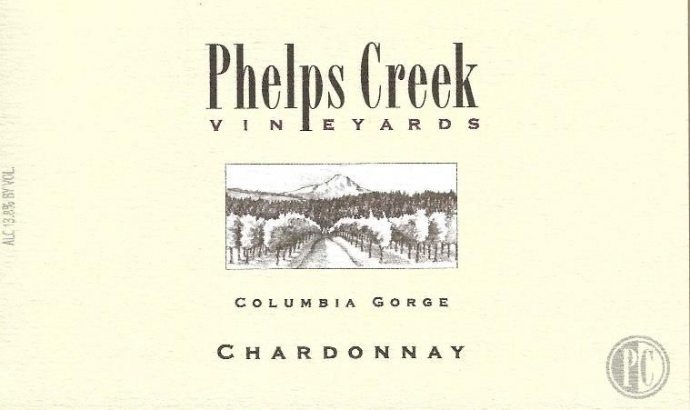 Phelps Creek Wines Chardonnay 2016