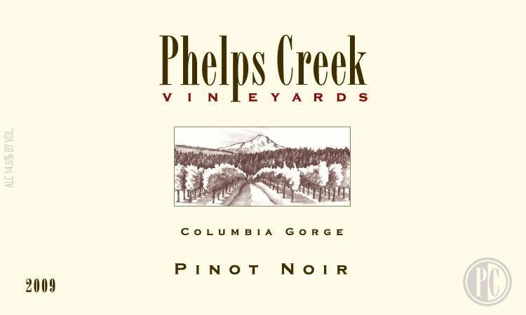 Phelps Creek Wines Pinot Noir 2015