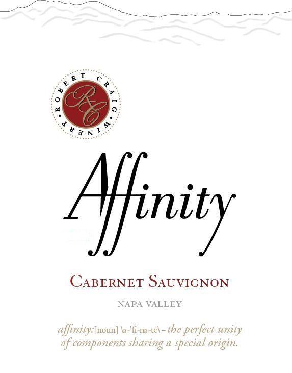 Robert Craig Cellars Affinity Cabernet Sauvignon 2016