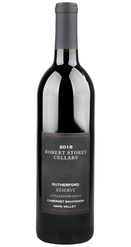 Robert Storey Cellars Rutherford Napa Valley 2018 Black Label Reserve Cabernet Sauvignon