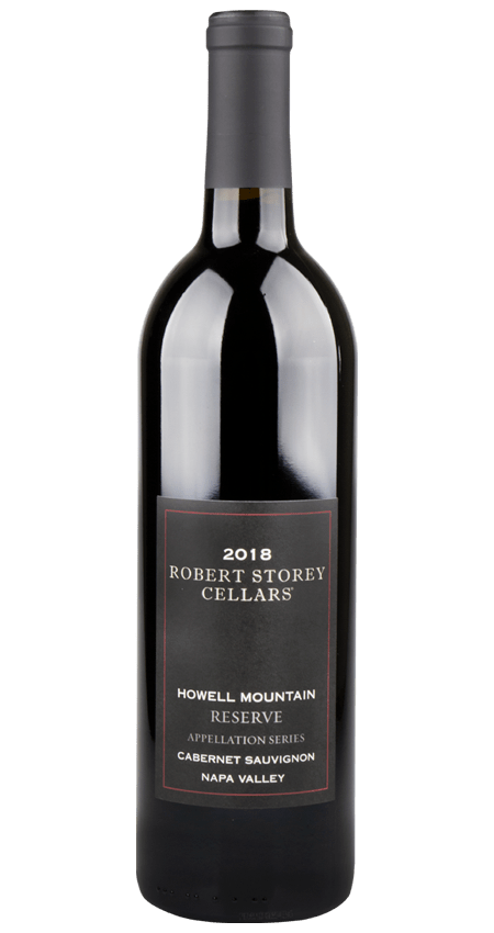 Robert Storey Howell Mountain Cabernet Sauvignon Black Label Reserve 2018