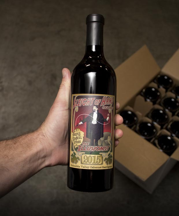 Sleight Of Hand Cellars The Illusionist Cabernet Sauvignon 2015