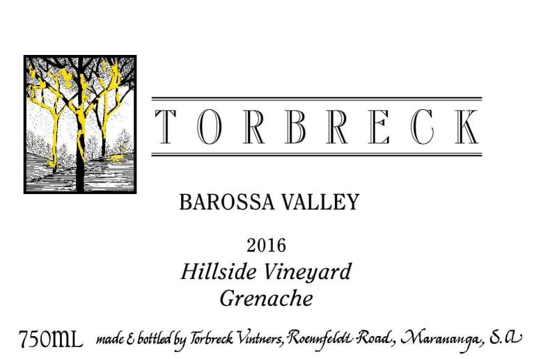 Torbreck Grenache Hillside Vineyard 2016