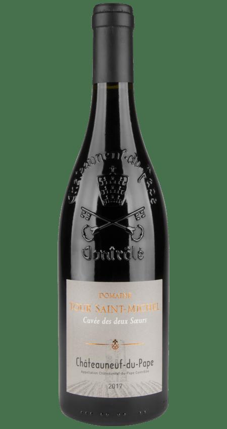 93 Pt. Châteauneuf-du-Pape Domaine Tour Saint-Michel 2017 Cuvée des Deux Soeurs